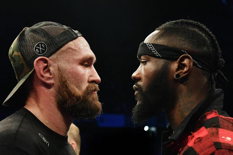 'It's on': Fury is set to face Wilder in Vegas (Getty Images)