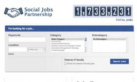 Facebook's new job board aggregates employment opportunities through sites like Monster.com.