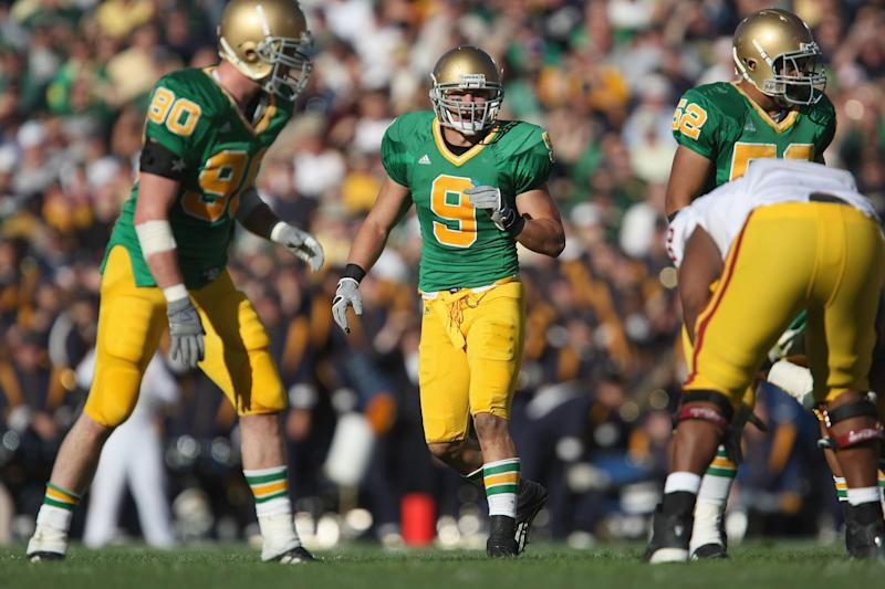 finest selection 1c798 f693f Could Notre Dame wear green jerseys vs. Florida State?
