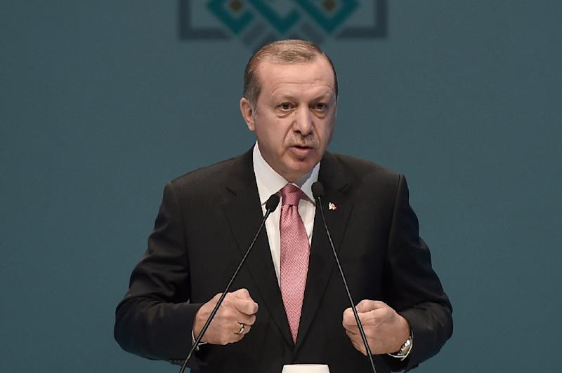 Turkish leader Erdogan accuses Germany of 'aiding and harboring terror'
