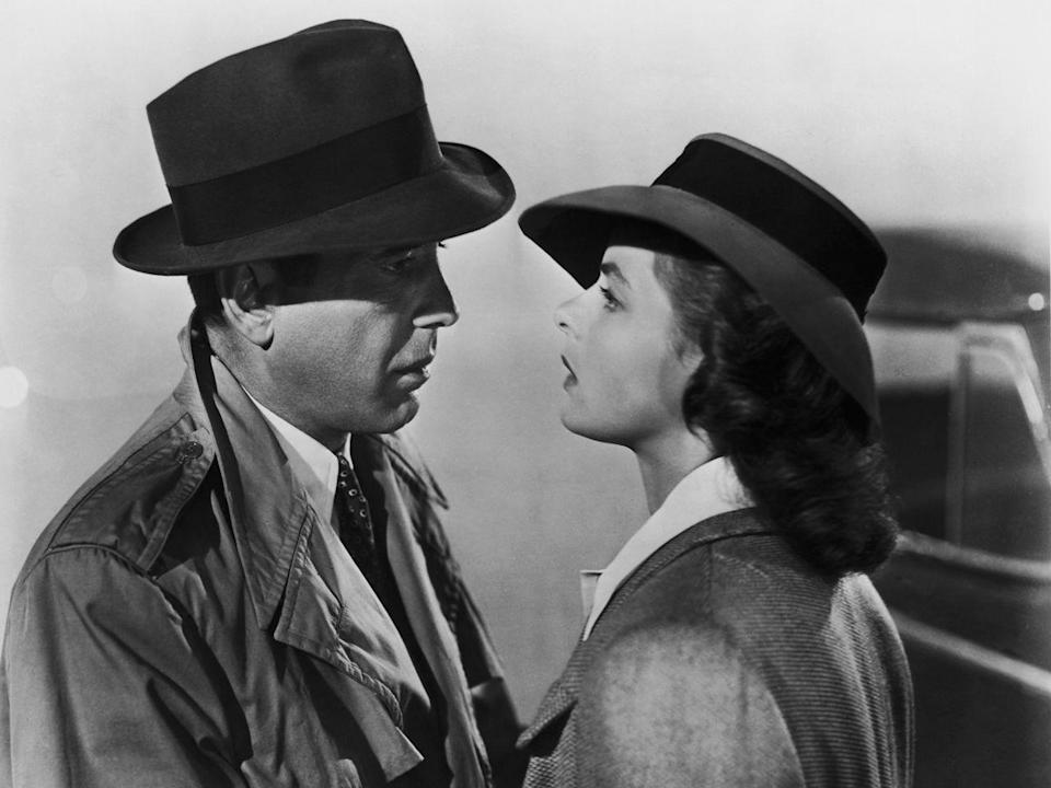 <p>Trench coats and fedoras; Halloween never looked so good.</p>