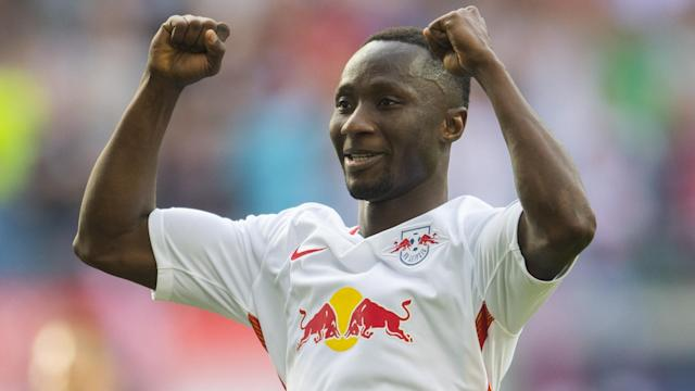 The Guinea international was on target as RB Leipzig secured their first ever Bundesliga win over the Bavarians