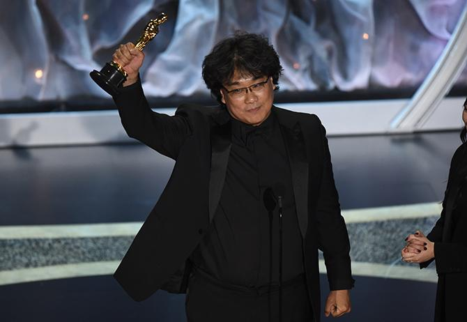 Bong Joon Ho enla 92 ceremonia de los premios Óscar (AP Photo, Chris Pizzello, GTRES)