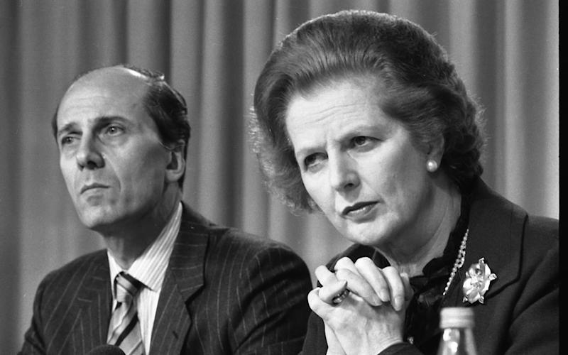 Margaret Thatcher and Norman Tebbit - Credit: Anthony Marshall