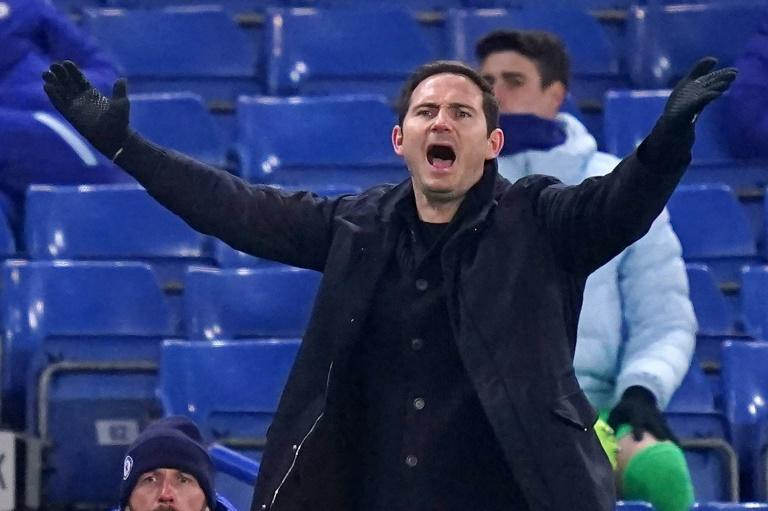 Under Pressure: Frank Lampard's Chelsea have won just one of their last five league games