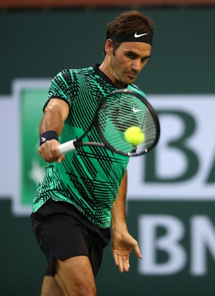 Roger Federer beats Rafael Nadal in straight sets at Indian Wells