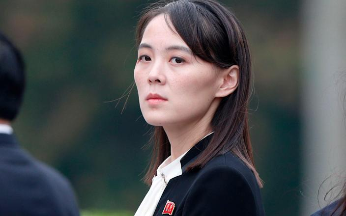 Kim Yo-jong has returned to the fold of the North Korean leadership this year - JORGE SILVA/AFP