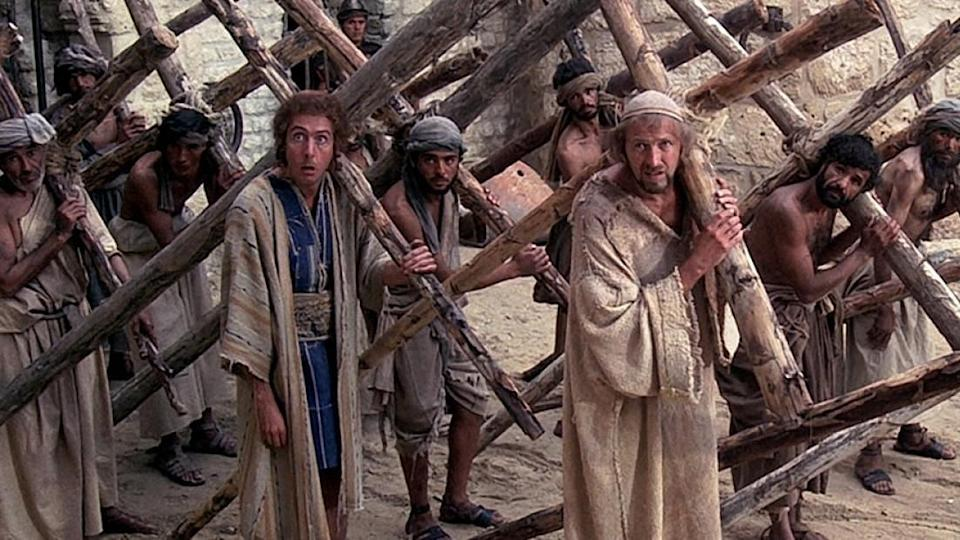 A still from <i>Life of Brian.</i>