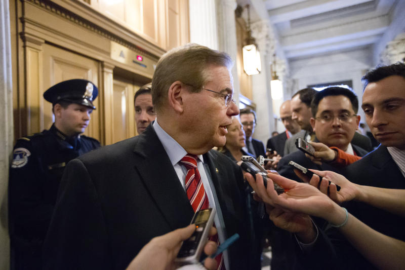 Business as usual for Menendez amid investigations