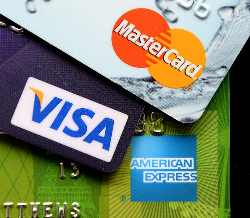 Credit card borrowing on the rise