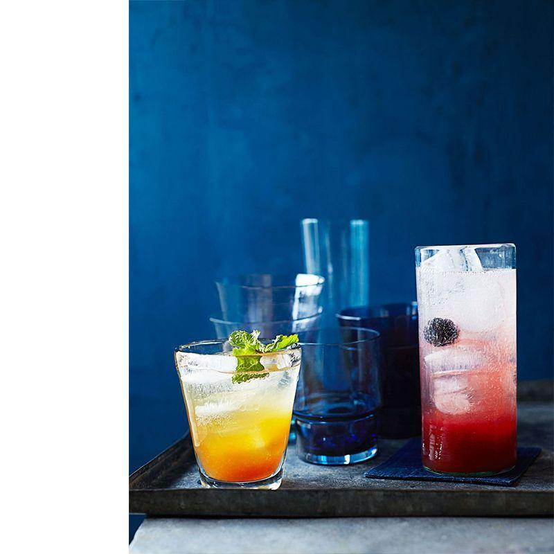 """<p>This nonalcoholic, refreshing drink features some of summer's best flavors.</p><p><a href=""""https://www.womansday.com/food-recipes/food-drinks/recipes/a39995/mocktail-blackberry-spritzer-recipe-ghk0714/"""" rel=""""nofollow noopener"""" target=""""_blank"""" data-ylk=""""slk:Get the Mocktail Blackberry Spritzer recipe."""" class=""""link rapid-noclick-resp""""><em>Get the Mocktail Blackberry Spritzer recipe.</em></a></p>"""