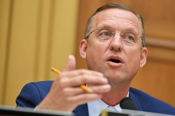 PHOTO: Ranking Member of the House Judiciary Committee, Rep. Doug Collins, speaks during a hearing where former White House lawyer Don McGhan is expected to testify on the Mueller report, on Capitol Hill in Washington, D.C., on May 21, 2019. (Mandel Ngan/AFP/Getty Images)