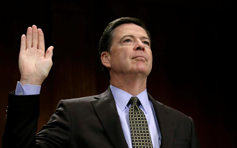FBI Director Comey testifies on Capitol Hill in Washington - Credit: Kevin Lamarque/Reuters
