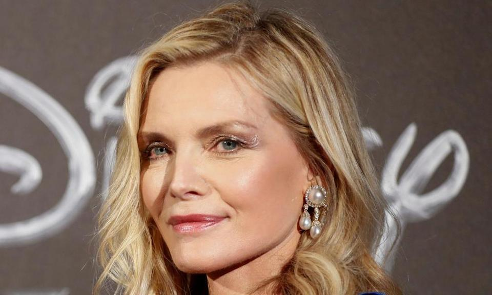 On side with Michelle Pfeiffer.