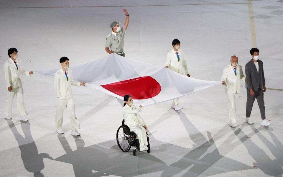 paralympics opening ceremony 2021 live updates toyko 2020 - REUTERS