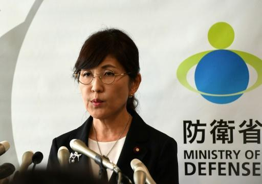 Japan's scandal-hit defence chief resigns