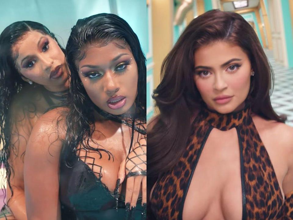 <br>Cardi B and Megan Thee Stallion included Kylie Jenner in their music video.