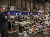 """<p>Don't worry, the 30-minute countdown (well, 20 for appetizers and 30 for entrées and desserts) is real. """"You're really being timed, you're being filmed from all sides and it's a real competition, not just a fake reality show,"""" Michael Vignola told <a href=""""https://www.tastingtable.com/entertain/national/chopped-secrets-behind-the-scenes-food-network"""" rel=""""nofollow noopener"""" target=""""_blank"""" data-ylk=""""slk:Tasting Table"""" class=""""link rapid-noclick-resp"""">Tasting Table</a>.</p>"""
