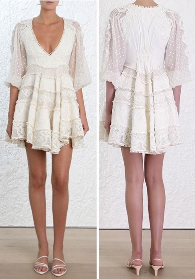 It's made of linen and silk cotton. Photo: Zimmermann