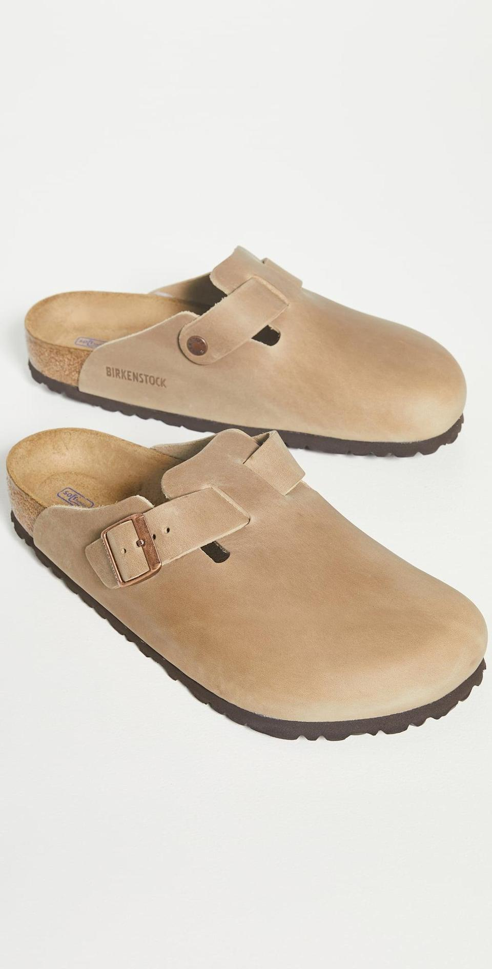 <p>Weekends will be spent in this <span>Birkenstock Boston Soft Footbed</span> ($145), which blends comfort and style pretty well. It also doesn't hurt that it's neutral, so you can pair it with practically any outfit.</p>