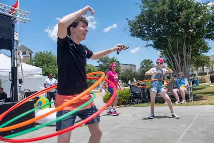 Grand Strand PRIDE held a festival at Valor Park in The Market Common on Saturday. The LGBTQ community around the nation are celebrating in June, the 50th Anniversary of the modern gay rights movement.