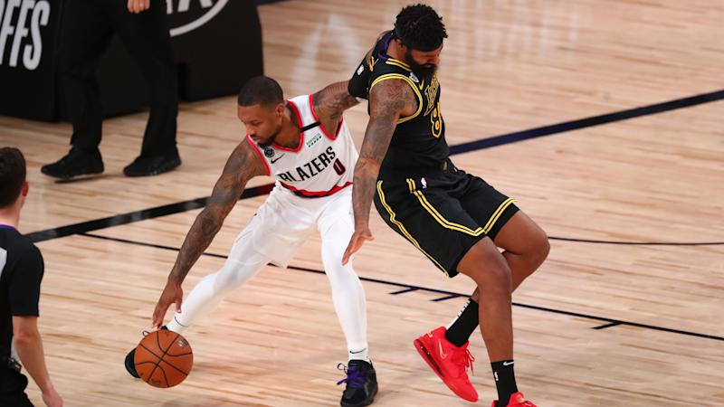 Damian Lillard injury update: Trail Blazers star out for Game 5 with right knee sprain
