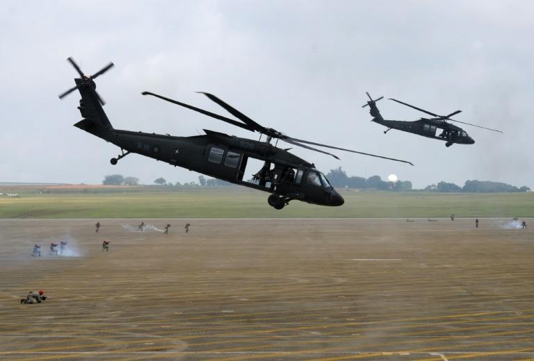There have been a number of incidents involving Taiwan's 60 Black Hawk helicopters -- purchased from the United States -- in recent years