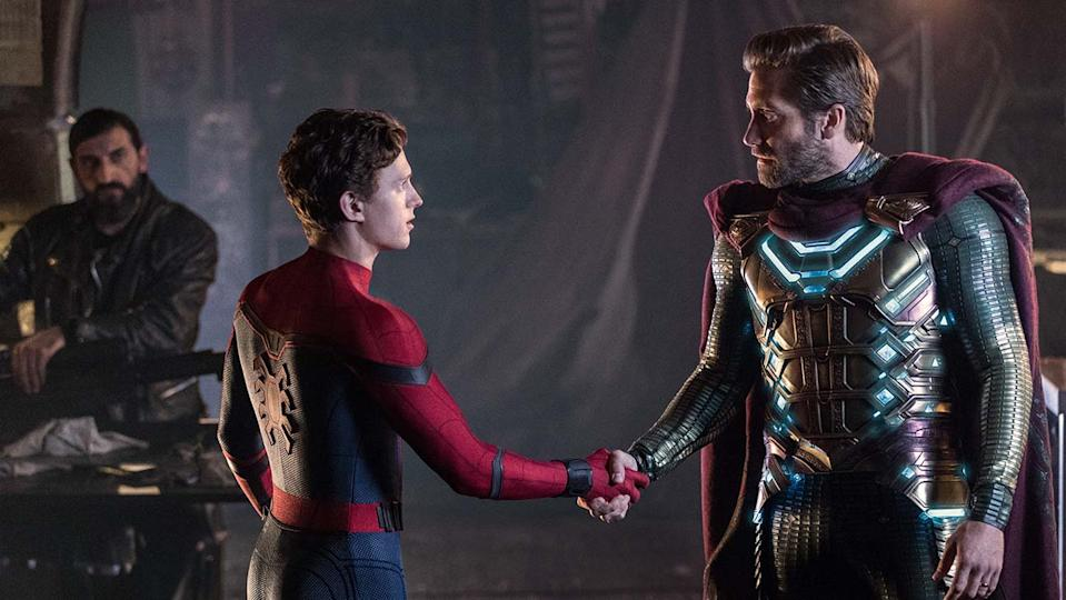 Tom Holland and Jake Gyllenhaal's Far From Home marked the final film in phase three. (Sony/Marvel)