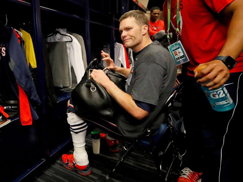 Tom Brady's jersey went missing after Super Bowl 51: Getty