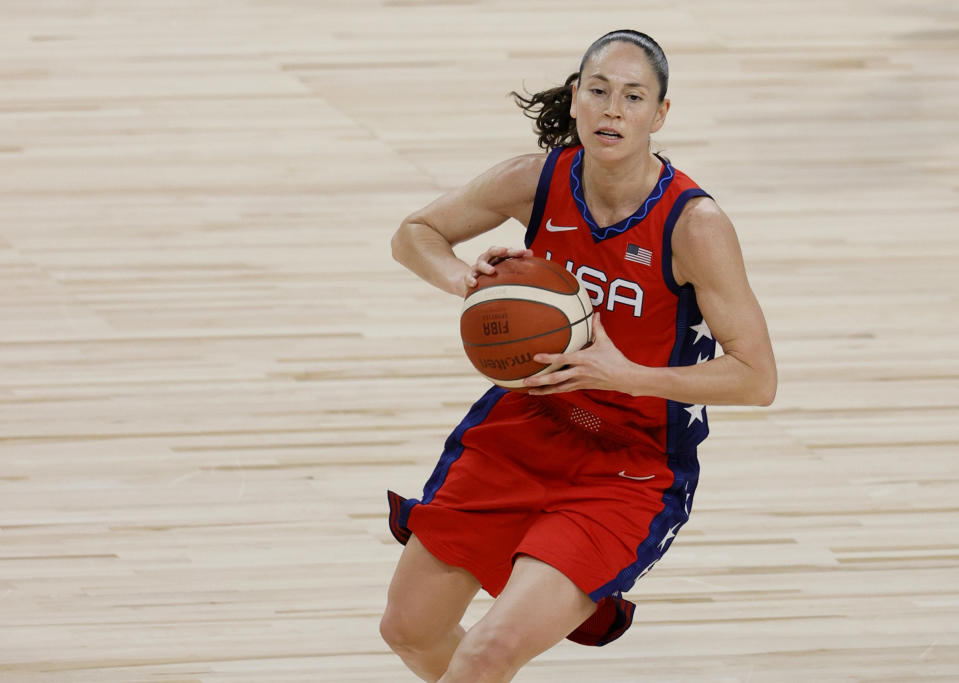 Hoops legend Sue Bird will be one of Team USA's flag bearers at the Olympic Opening Ceremony. (Ethan Miller/Getty Images)