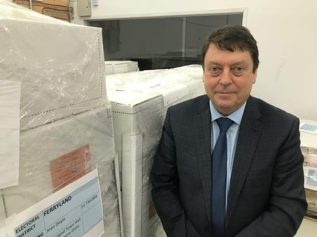 Chief electoral officer Bruce Chaulk is defending the mail-in ballot application processing, saying prospective voters had four options for applying for a voting kit prior to Friday's deadline.