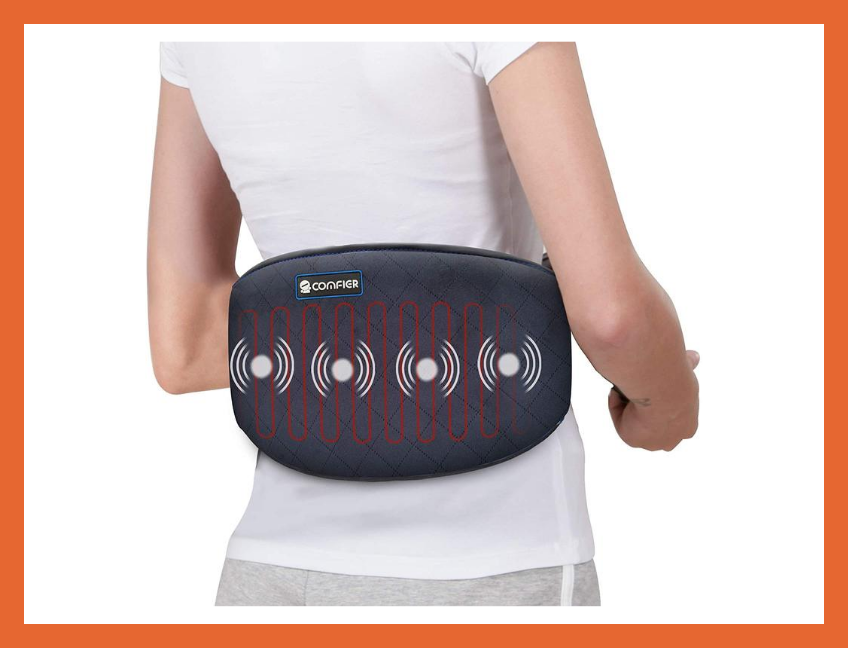 Today only: Save 59 percent—Comfier Vibrating Heating Pad for Back Pain. (Photo: Amazon)