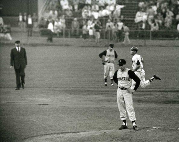 """<p><strong>May 26, 1959</strong>: Pittsburgh's Harvey Haddix pitched the greatest game of all time—and lost. Haddix threw 12 perfect innings against the Milwaukee Braves, only to see his team fail to score. In the bottom of the twelfth the Braves' Felix Mantilla reached on an error by third baseman Don Hoak, ending the perfect game. Three batters later, first baseman Joe Adcock drove in Mantilla with his team's only hit—a home run to deep center field that was later ruled a double. """"Considering that this has never been repeated, it is an amazing event,"""" says Puerzer.<br> </p>"""