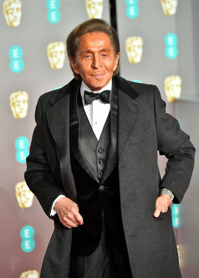<p>When you're partly responsible for the current state of black tie, it makes total sense for Mr Valentino Garavani to crash the party. And needless to say, he's already dressing better than most on the red carpet in a triumvirate of tux-friendly layers.</p>