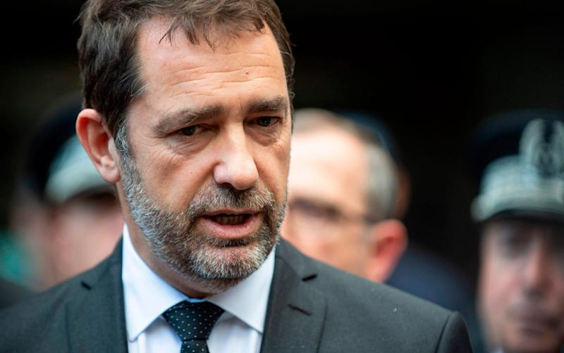 French Interior minister Christophe Castaner has raised the possibility of introducing migration quotas - AFP