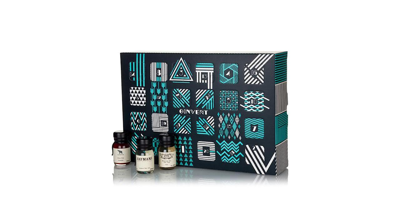 """<p>Gin Foundry's calendar conceals 24 little UK-made gins behind each door from London Dry to Navy Strength. <em><a rel=""""nofollow"""" href=""""https://ginkiosk.com/products/ginvent-calendar-2017"""">Gin Kiosk, 124.95</a></em> </p>"""