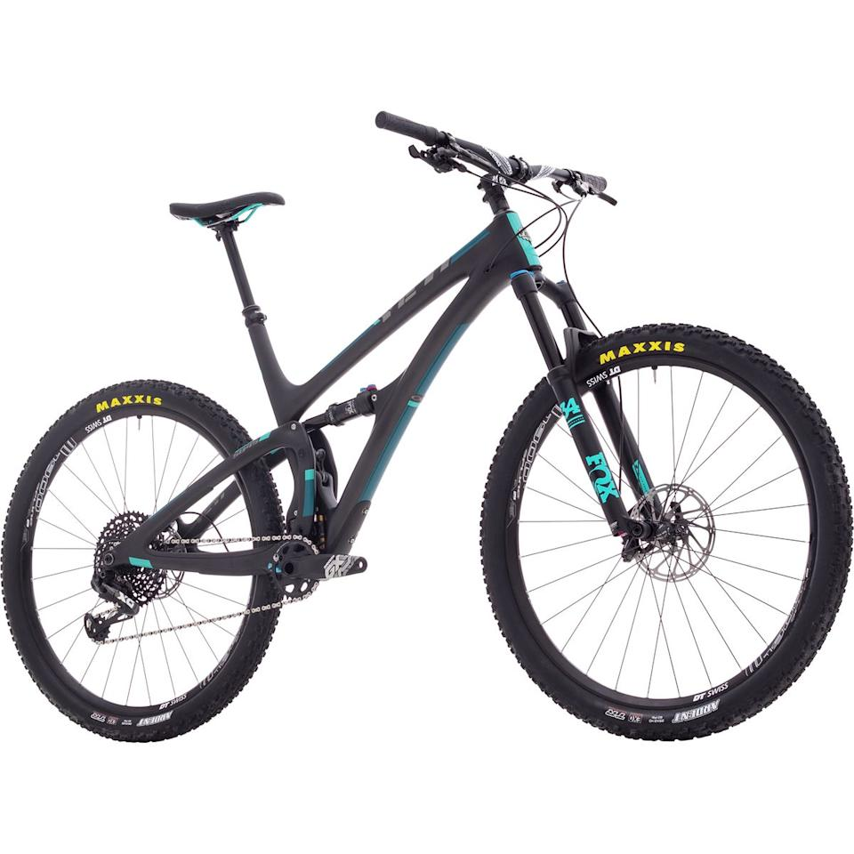"""<p><strong>Yeti Cycles</strong></p><p>backcountry.com</p><p><strong>$3639.30</strong></p><p><a href=""""https://www.backcountry.com/yeti-cycles-sb4.5-carbon-gx-eagle-complete-mountain-bike-2018"""" target=""""_blank"""">Buy Now</a></p><p><strong>Originally $5,199</strong></p>"""