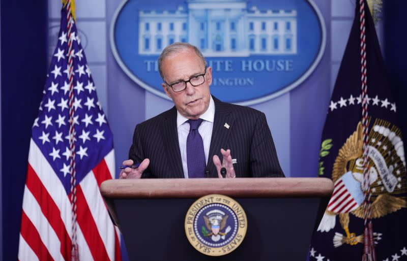 Trump administration 'satisfied' with China purchase progress in Phase 1 trade deal - Kudlow