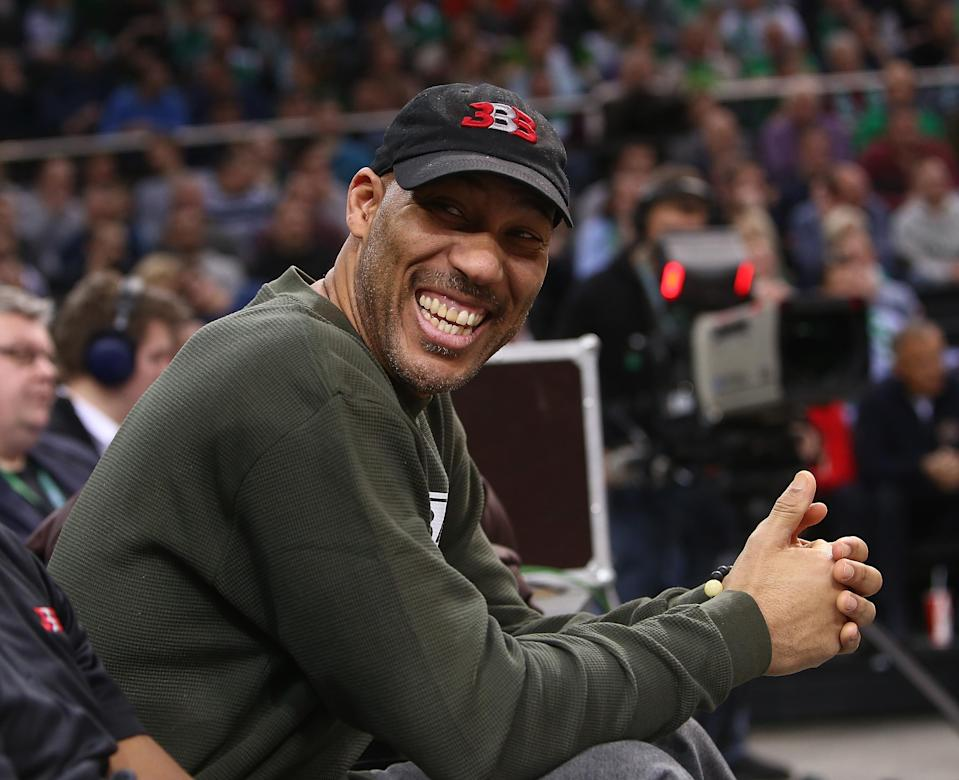 LaVar Ball's method of recruiting prospects to his new start-up league leaves a lot to be desired. (Getty)