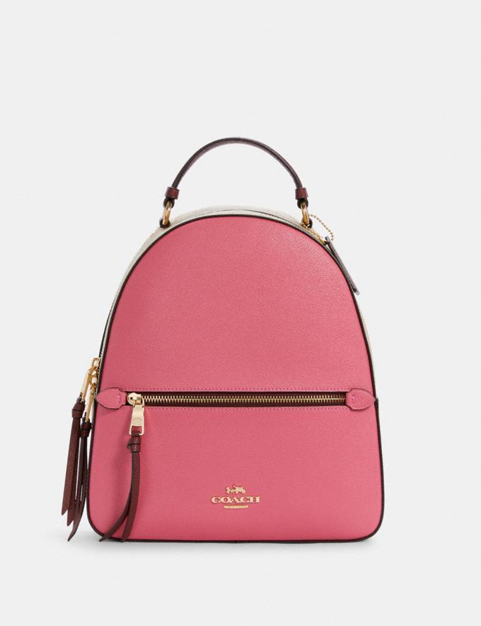 Jordyn Backpack In Colorblock Signature Canvas- Coach Outlet
