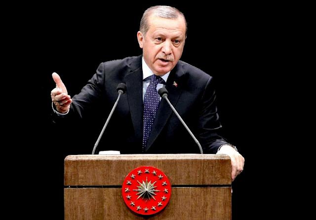 President Recep Tayyip Erdogan has been angered by the European Parliament's non-binding decision to freeze membership talks with Ankara (AFP Photo/Adem Altan)