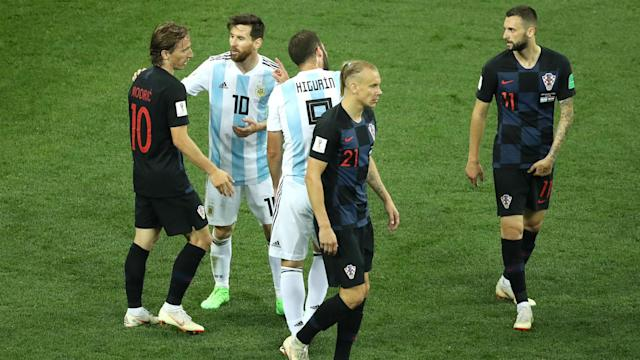 Croatia's game plan to isolate the Barca star worked to perfection in their dominant victory, as he was starved of possession throughout