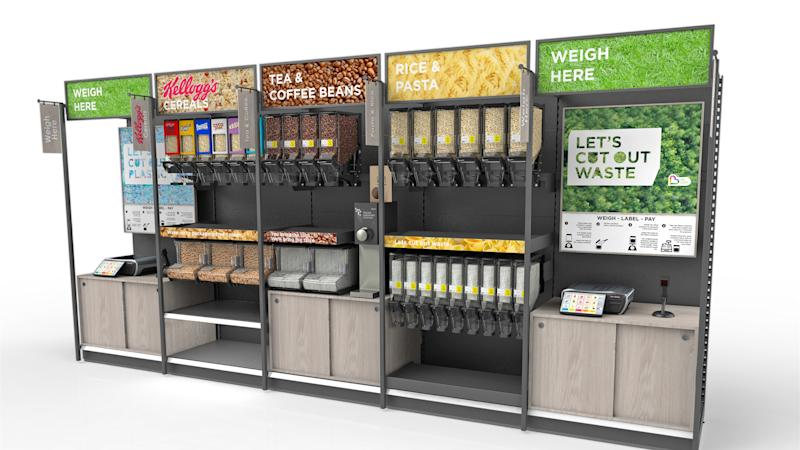 Asda to offer refill stations at 'sustainability store'