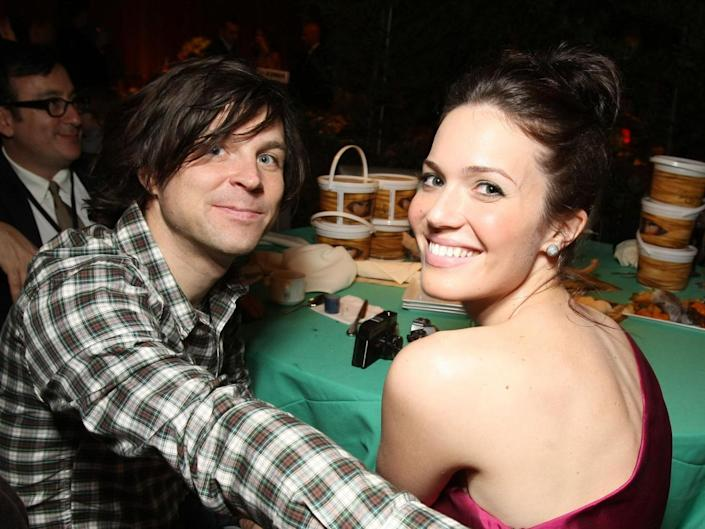 Ryan Adams and Mandy Moore in 2010: Rex Features