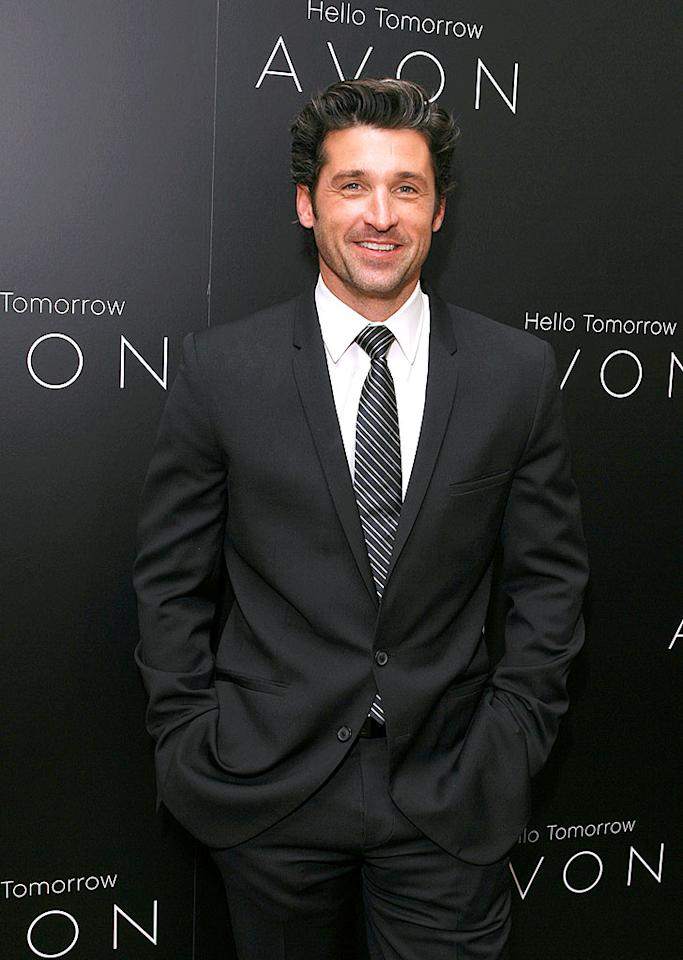 """Patrick Dempsey is super sexy in scruff. No wonder his nickname is McDreamy! Jeff Vespa/<a href=""""http://www.wireimage.com"""" target=""""new"""">WireImage.com</a> - March 31, 2008"""