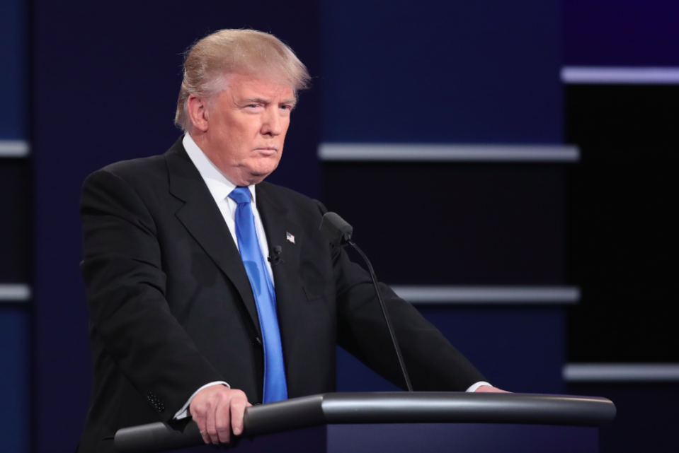 <em>Donald Trump is not allowed to block his political critics on Twitter (Getty)</em>