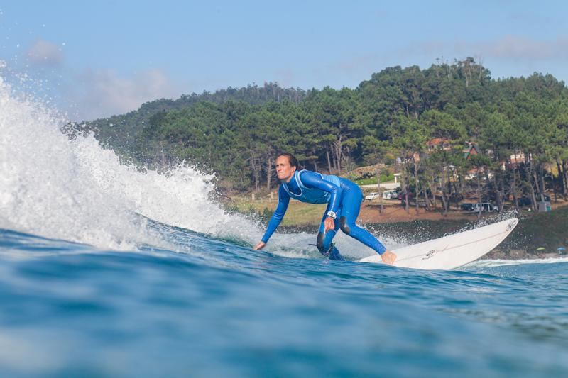 PANTIN,GALICIA-28 AUGUST : Justine Dupont of France advances to Round 3 of the Longboard Classic Galicia 2019 after placing second in Heat 3 of Round 2 on August 28, 2019 in Pantin,Galicia(Photo by Laurent Masurel/WSL via Getty Images)