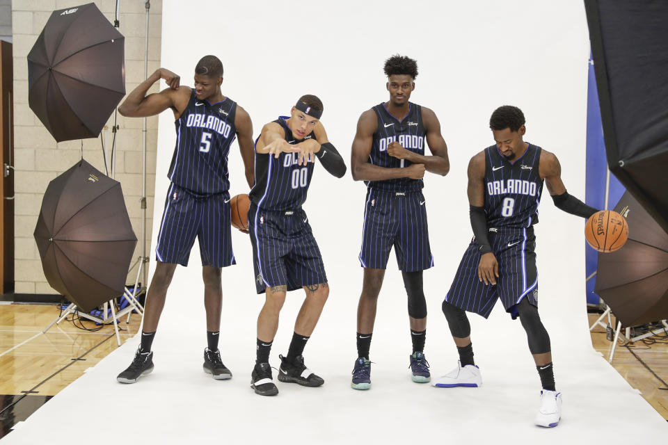 """""""Who's going to be an average team? We are!"""" — the Orlando Magic, in all probability"""