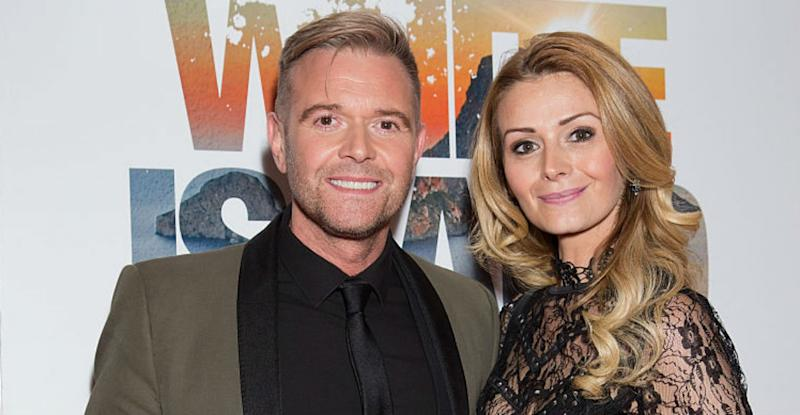 Darren Day and his wife Stephanie Dooley have split up after 12 years of marriage (Photo by Dave J Hogan/Dave J Hogan/Getty Images)