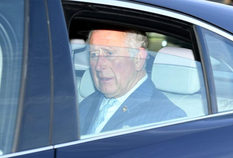 Prince Charles arrives at Queen's Christmas lunch | Tim Rooke/Shutterstock